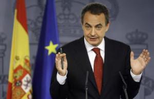 Re-elected ... Jose Luis Rodriguez Zapatero.