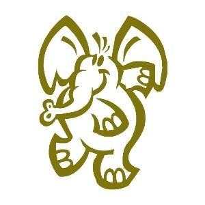 vignetta-di-disegno-di-un-elefante
